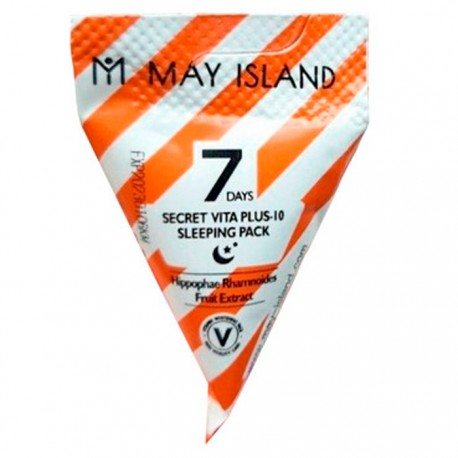 May Island Seven Days Secret Vita Plus - 10 Sleeping Pack 1 in 1