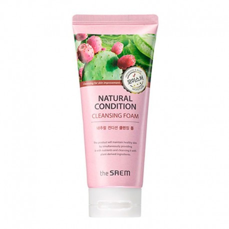THE SAEM NATURAL CONDITION CLEANSING FOAM - Moisture