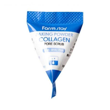 Farmstay Baking Powder Collagen Pore Scrub