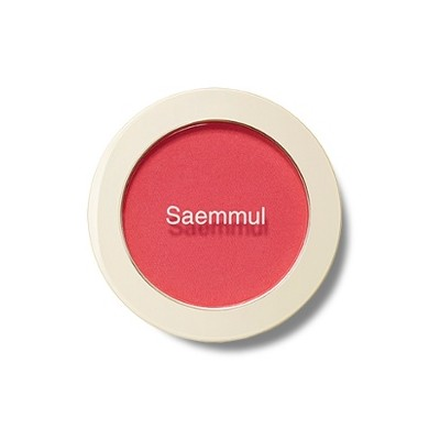 The Saem Saemmul Single Blusher PK01 Bubblegum Pink