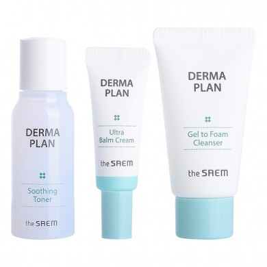 The Saem Derma Plan Mini 3 Set
