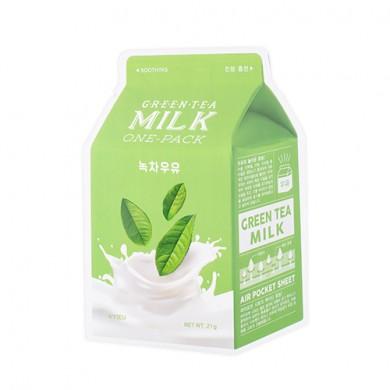 A'PIEU Green Tea Soothing Milk One Pack