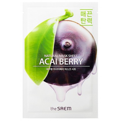 The Saem Natural Acai Berry Mask Sheet