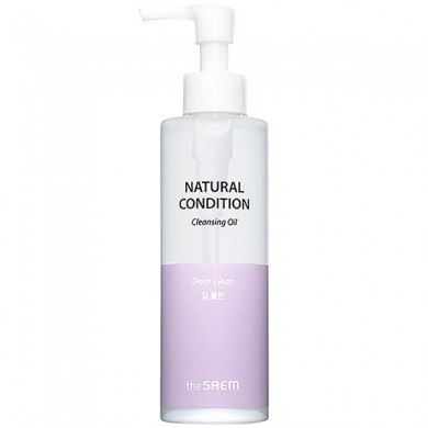 The Saem Natural Condition Fresh Cleansing Oil