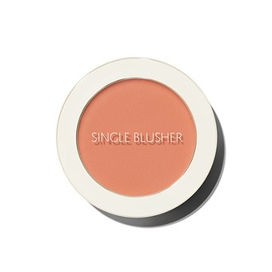 Saemmul Single Blusher OR04 Pumpkin Latte