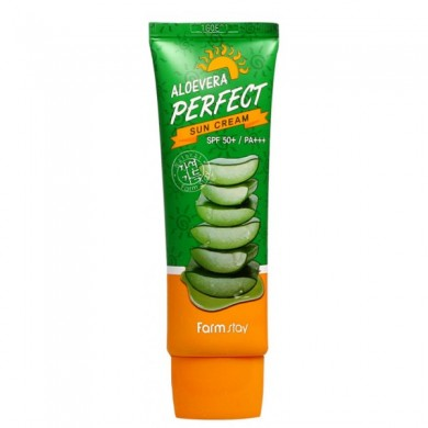 Farmstay Aloevera Perfect Sun Cream SPF50+ PA+++