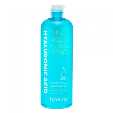 FarmStay Hyaluronic Acid Multi Aqua Ultra Toner