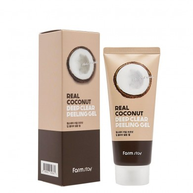 Farmstay Real Coconut Deep Clear Peeling Gel
