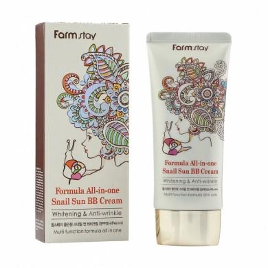 Farmstay Formula All-In-One Snail BB Cream