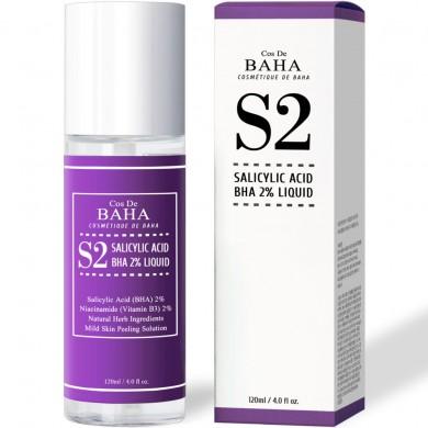 Cos De BAHA Salicylic Acid Exfoliant Facial Liquid with Niacinamide