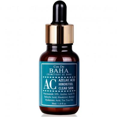 Cos De BAHA Acne Treatment Intensive Facial Serum with Azelaic acid