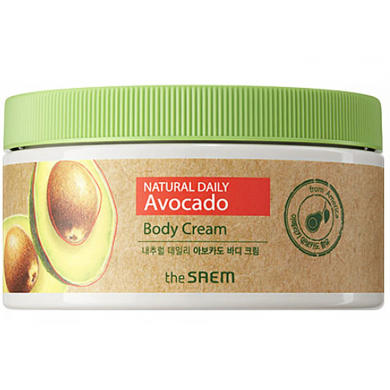The Saem Natural Daily Avocado Body Cream