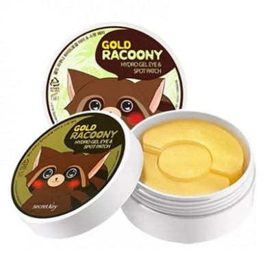 Secret Key Gold Racoony Hydrogel Eye Spot Patch Золотые патчи под глаза