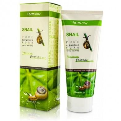Farmstay Snail Pure Cleansing Foam