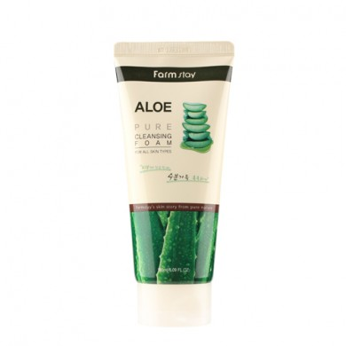 Farmstay Aloe Pure Cleansing Foam