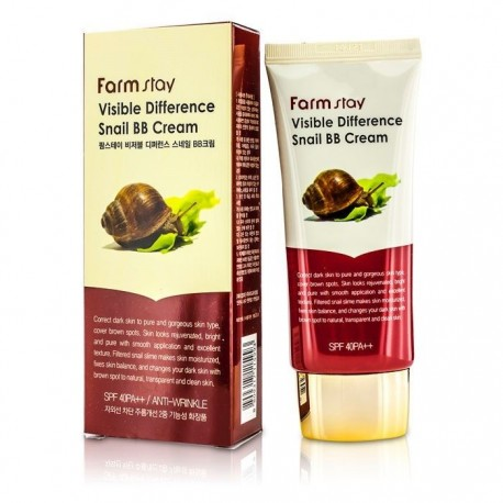 Farmstay Visible Difference Snail BB Cream SPF 40 PA++