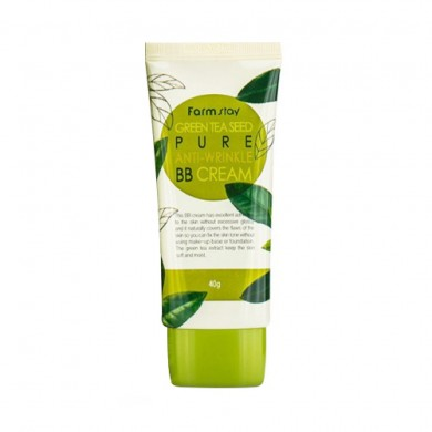 Farmstay Green Tea Seed Pure Anti-Wrinkle BB Cream