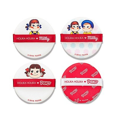 Holika Holika Peko Chan Hard Cover Cushion Puff Set