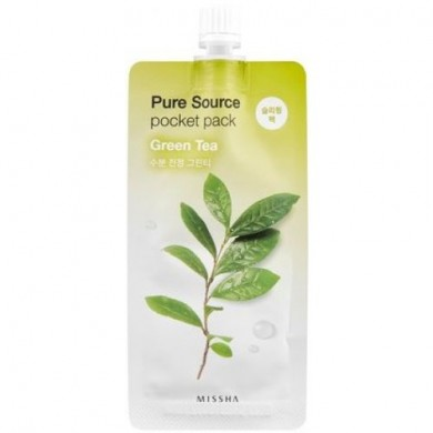 Missha Pure Source Pocket Pack Green Tea