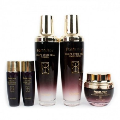 Farmstay Grape Stem Cell Skin Care 3set