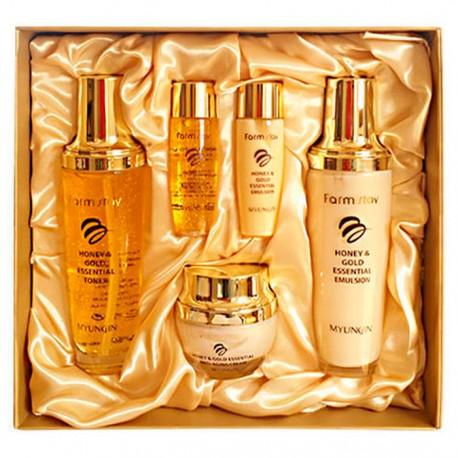 Farmstay Honey &Gold Essential Skin Care 3set