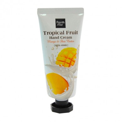 Farmstay Tropical Fruit Hand Cream Mango & Shea Butter