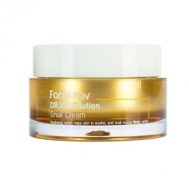 Farmstay Dr.V8 Solution Snail Cream