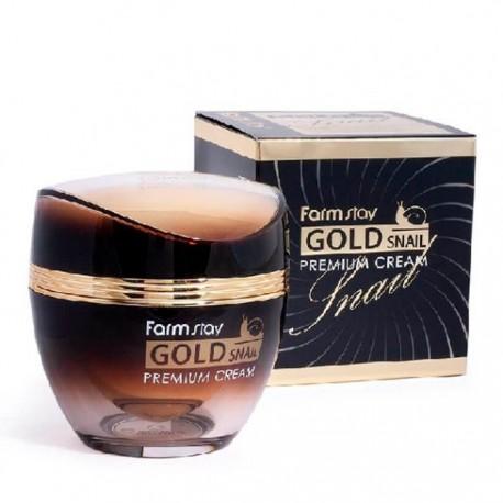 Farmstay Black Snail Premium Gold Cream