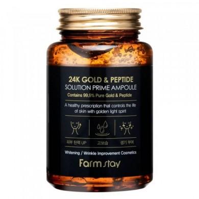 Farmstay 24k Gold & Peptide Prime Ampoule