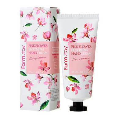 Farmstay Pink Flower Blooming Hand Cream Cherry Blossom
