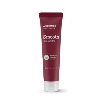 AROMATICA Hibiscus Color Protection Leave-in Hair Mask