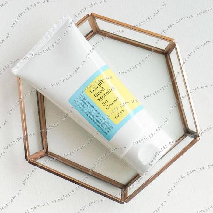 COSRX Low pH Good Morning Gel Cleanser Гель-Пенка для умывания с ВНА-кислотами, фото 1 | Sweetness
