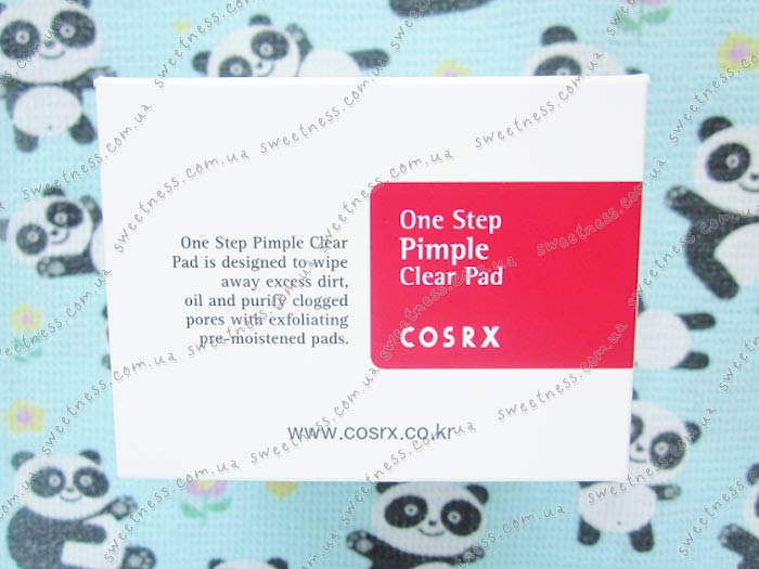 COSRX One Step Pimple Clear Pad Спонжи с ВНА-кислотами фото 8 | Sweetness