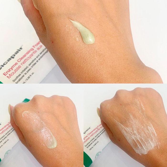 Dr.Jart+ Cicapair Enzyme Cleansing Foam Энзимная пенка для проблемной и чувствительной кожи фото 4 / Sweetness