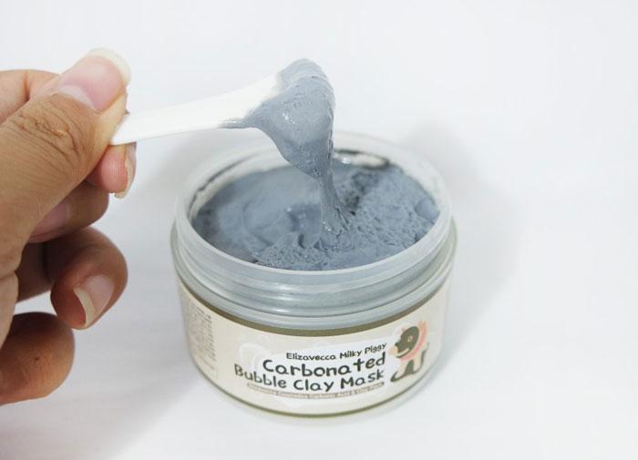 Elizavecca Milky Piggy Carbonated Bubble Clay Mask Кислородная маска на основе глины фото 5 | Sweetness