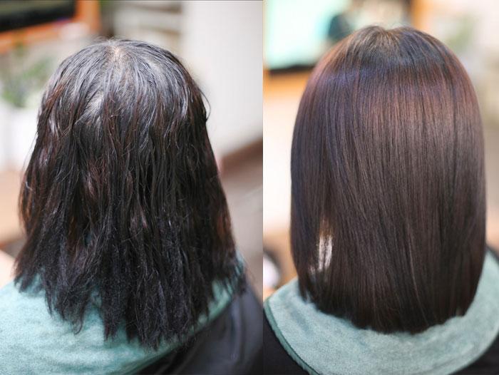 Elizavecca Milky Piggy Collagen Coating Protein Ion Injection Ессенция для волос с коллагеном фото 5 | Sweetness