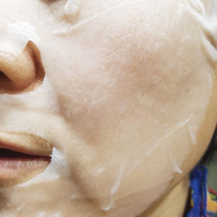 Антивозрастная тканевая маска для лица L'arvore Daily Care Mask Wrinkless фото 4 / Sweetness