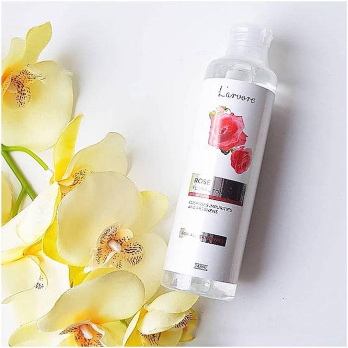 Освежающий тонер для лица с экстрактом розы L'arvore Rose Floral Toner фото 2 / Sweetness