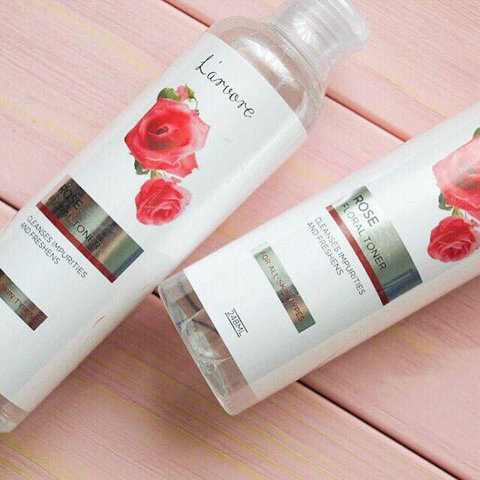 Освежающий тонер для лица с экстрактом розы L'arvore Rose Floral Toner фото 3 / Sweetness