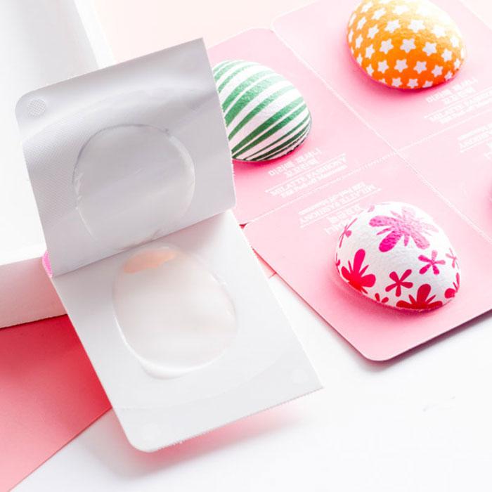 Milatte Fashiony Egg Peel-Off Cream Pack Набор кремовых пилинг-масок Яйца фото 3 | Sweetness