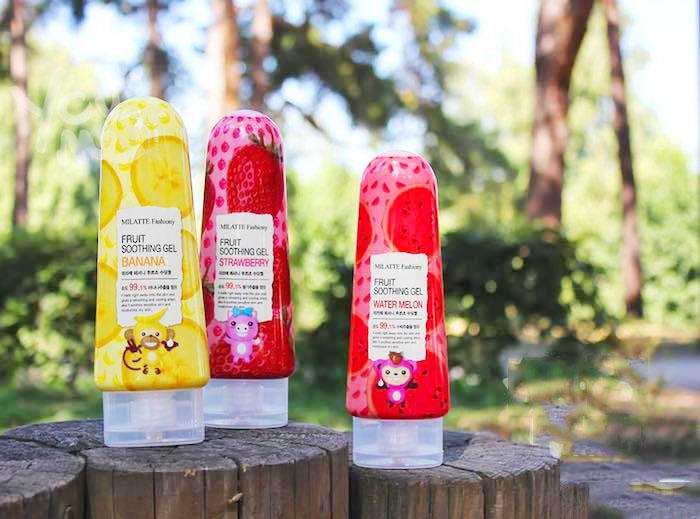 Milatte Fashiony Fruit Soothing Gel Фруктовые увлажняющие гели фото 1 | Sweetness