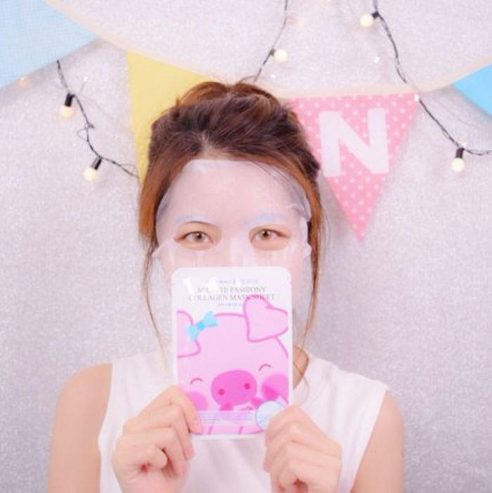 Milatte Fashiony Mask Sheet Листовая улиточная маска фото 5 | Sweetness