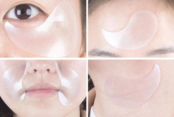 Milatte Fashiony Pearl Hydrogel Eye Patch Патчи для кожи вокруг глаз гидрогелевые с жемчугом фото 6 | Sweetness