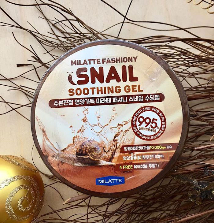 Milatte Fashiony Snail Soothing Gel Увлажняющий гель с улиточной слизью фото 1 | Sweetness