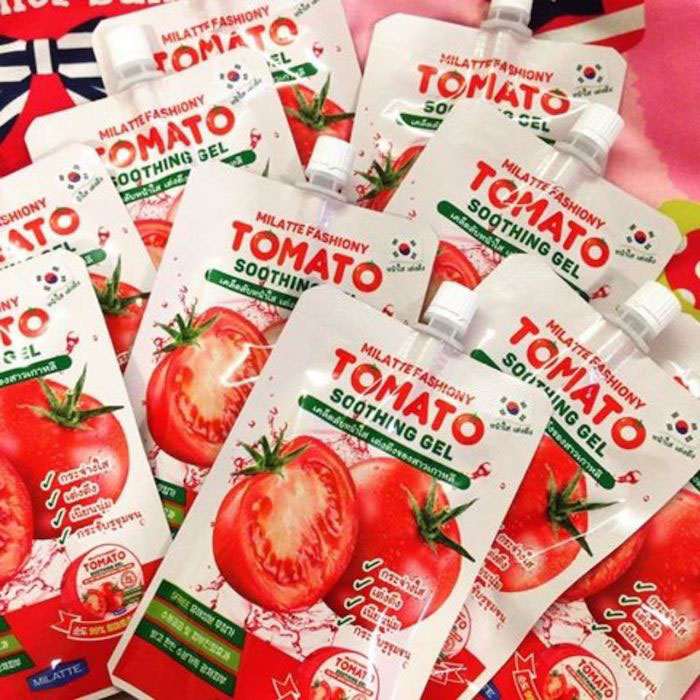Milatte Fashiony Tomato Soothing Gel Pouch Осветляющий гель с экстрактом томата фото 1 | Sweetness