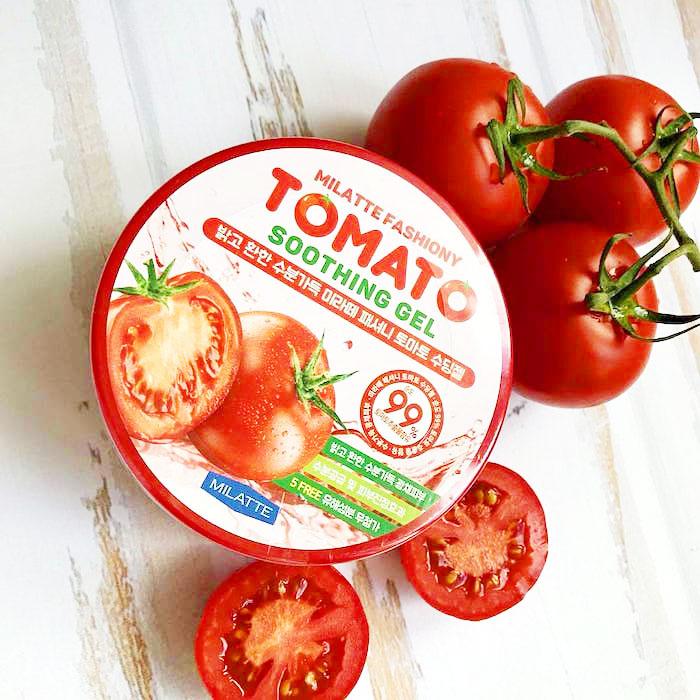 Milatte Fashiony Tomato Soothing Gel Осветляющий гель с экстрактом томата фото 1 | Sweetness