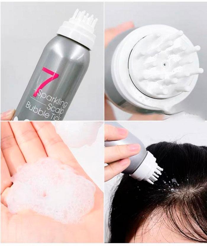 Masil 7 Sparkling Scalp Bubble Tick Пилинг для кожи головы фото 1 / Sweetness