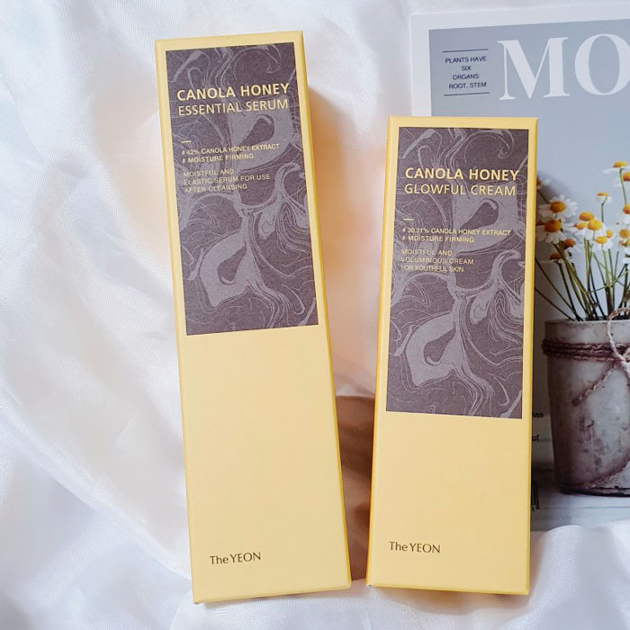 Увлажняющий запатентованный мульти-крем The Yeon Canola Honey Glowful Cream фото 1 / Sweetness