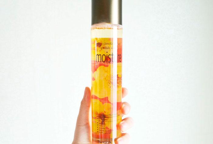 Увлажняющая вода с мёдом канолы The Yeon Jeju Canola Honey Polish Water[Moisture] фото 2 / Sweetness