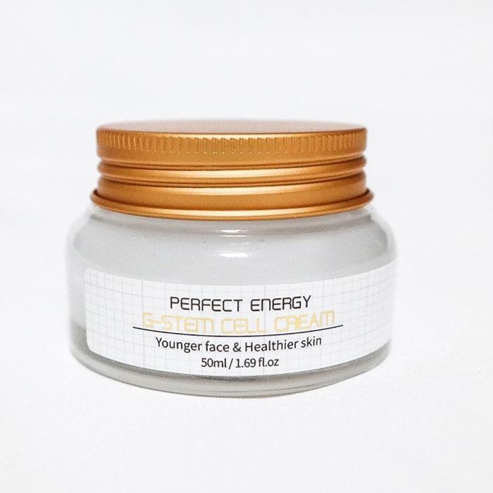 Увлажняющий крем для лица на основе стволовых клеток Amicell Perfect G-Stem Cell Cream фото 2 | Sweetness